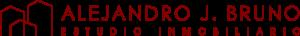 Logo estudio inmobiliario Alejandro j Bruno- imagen de marca