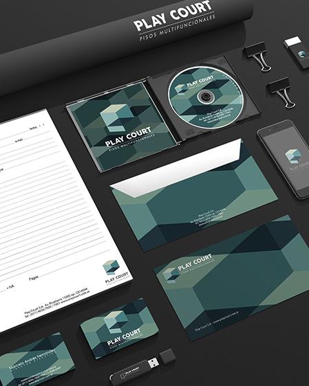 Play court brandin web imagen demarca logo nuevo diseño dink estudio