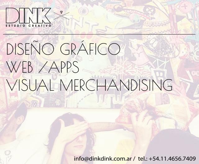 Dink Estudio de Diseño, Dink Estudio Creativo-Diseño Grafico-Web-App-Visual Merchandisisng-imagen de marca- logos